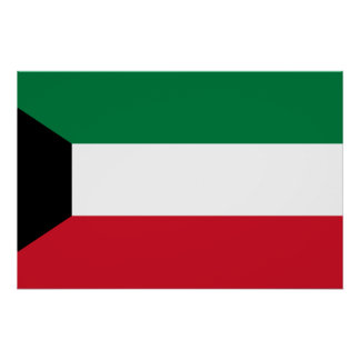 Bandera de Kuwait, Kenia Póster