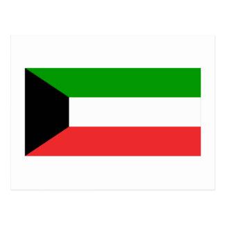 Bandera de Kuwait Postales