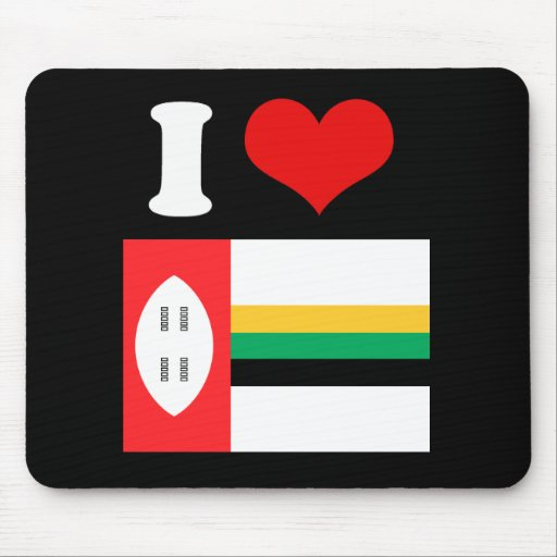 Bandera de Kwazula Alfombrillas De Ratón