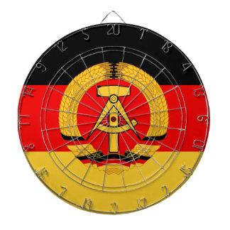 Bandera de la Alemania Oriental Tablero Dardos