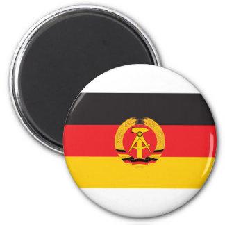 Bandera de la Alemania Oriental Imán Redondo 5 Cm