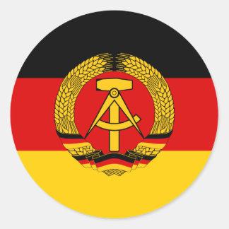 Bandera de la Alemania Oriental Pegatinas
