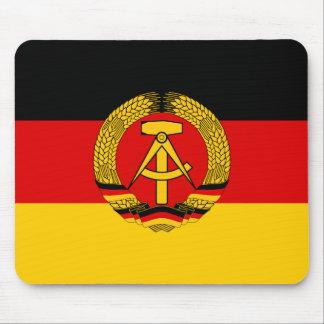 Bandera de la Alemania Oriental Tapete De Ratones