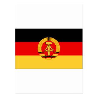 Bandera de la Alemania Oriental Tarjetas Postales
