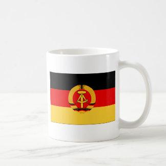 Bandera de la Alemania Oriental Taza