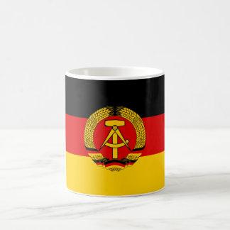 Bandera de la Alemania Oriental Taza De Café