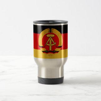 Bandera de la Alemania Oriental Taza Térmica