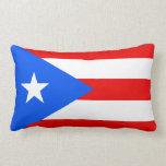 Bandera de la almohada de Puerto Rico