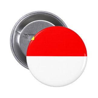 Bandera de la Alsacia-Lorena Pin Redondo De 2 Pulgadas