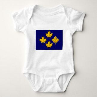 Bandera de la alternativa del almirante de Canadá Camisas
