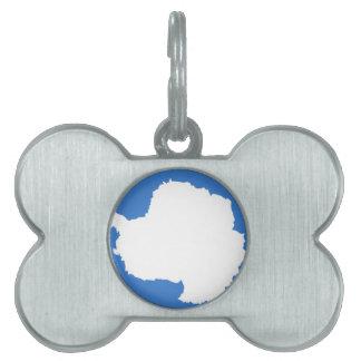 Bandera de la Antártida Placa Mascota