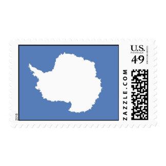 Bandera de la Antártida Franqueo