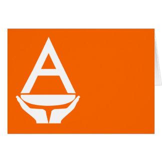 Bandera de la Antártida (Smith) Felicitaciones