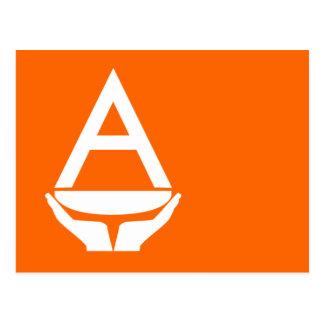 Bandera de la Antártida (Smith) Postal