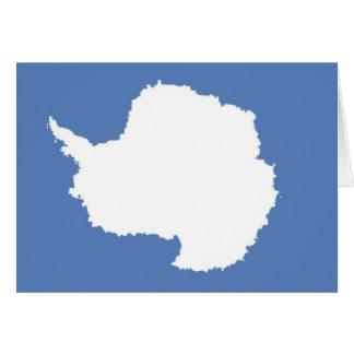 Bandera de la Antártida Tarjetas