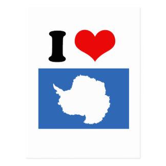 Bandera de la Antártida Postal