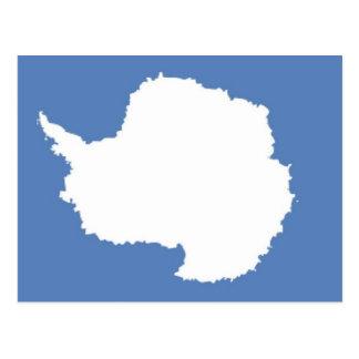 Bandera de la Antártida Tarjetas Postales