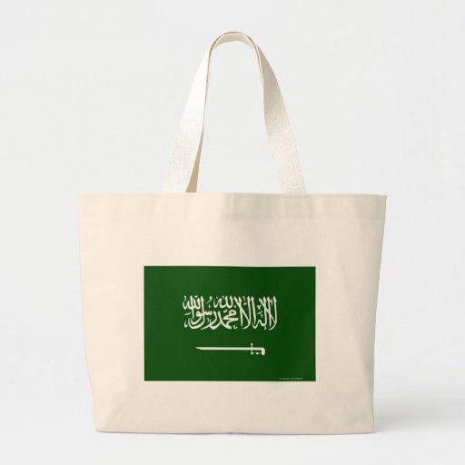 Bandera de la Arabia Saudita Bolsas Lienzo