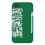Bandera de la Arabia Saudita iPhone 4/4S Carcasa