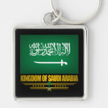 Bandera de la Arabia Saudita Llavero Personalizado
