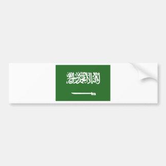 Bandera de la Arabia Saudita Pegatina Para Auto