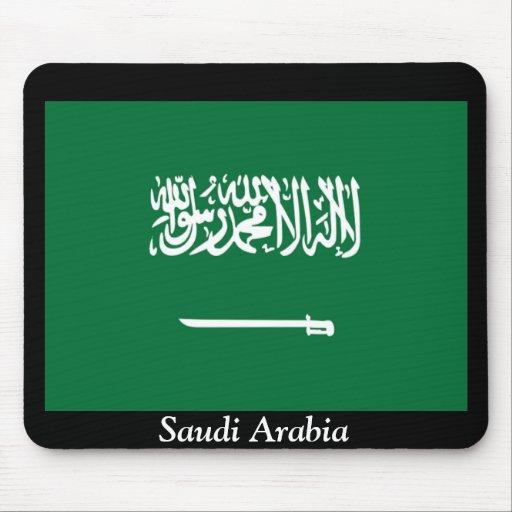 Bandera de la Arabia Saudita Tapete De Raton