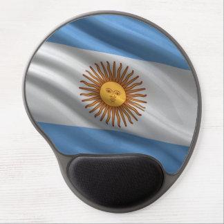 Bandera de la Argentina Alfombrilla De Raton Con Gel