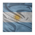 Bandera de la Argentina Azulejos