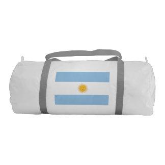 Bandera de la Argentina Bolsa De Deporte