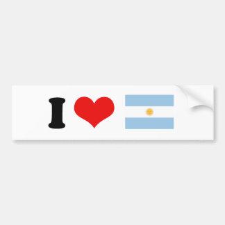Bandera de la Argentina Pegatina Para Auto