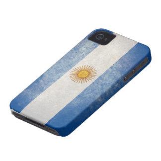 Bandera de la Argentina Case-Mate iPhone 4 Cobertura