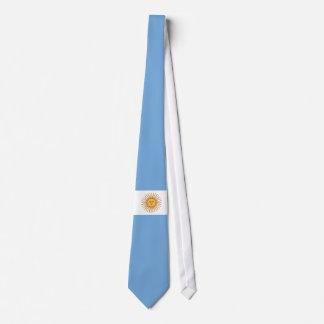 Bandera de la Argentina Corbatas Personalizadas