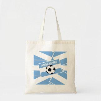 Bandera de la Argentina del fútbol del fútbol