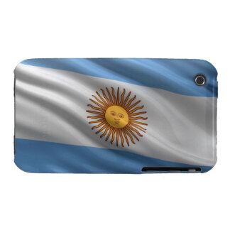 Bandera de la Argentina Case-Mate iPhone 3 Cobertura