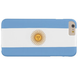 Bandera de la Argentina Funda De iPhone 6 Plus Barely There