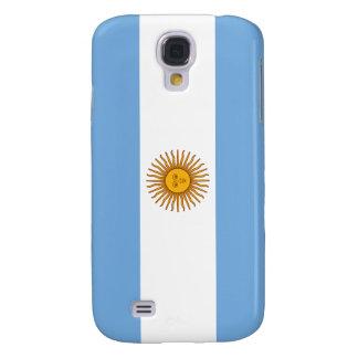 Bandera de la Argentina Funda Para Galaxy S4