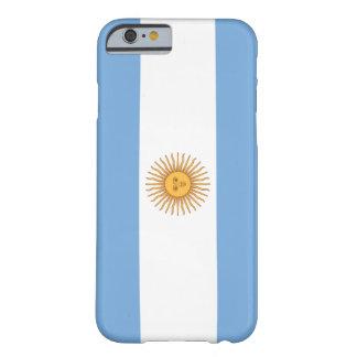 Bandera de la Argentina Funda Para iPhone 6 Barely There