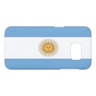 Bandera de la Argentina Funda Samsung Galaxy S7