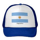 Bandera de la Argentina Gorros Bordados