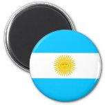 Bandera de la Argentina Imán De Frigorífico