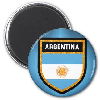 Bandera de la Argentina Imán Redondo 5 Cm