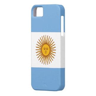Bandera de la Argentina iPhone 5 Carcasa