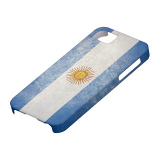 Bandera de la Argentina iPhone 5 Carcasas