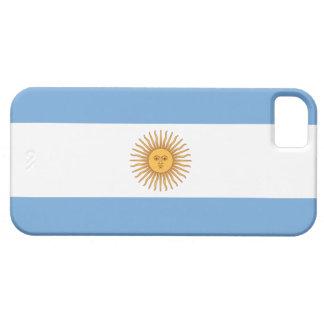 Bandera de la Argentina iPhone 5 Funda