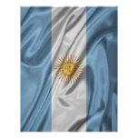 Bandera de la Argentina Membrete A Diseño