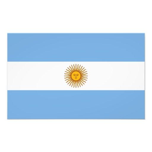 Bandera de la Argentina Impresiones Fotográficas