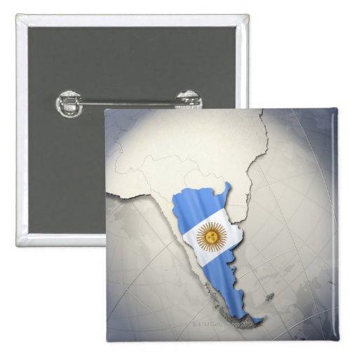 Bandera de la Argentina Pin