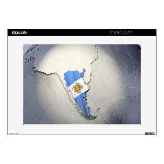 Bandera de la Argentina Portátil Calcomanías