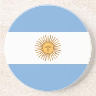 Bandera de la Argentina Posavaso Para Bebida