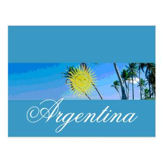 Bandera de la Argentina Postal